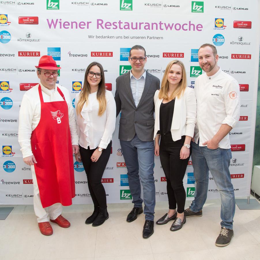 Bild 20 | Fototermin der Wiener Restaurantwoche