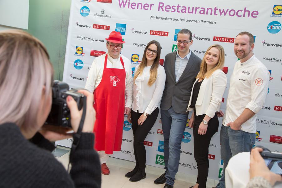 Bild 21 | Fototermin der Wiener Restaurantwoche