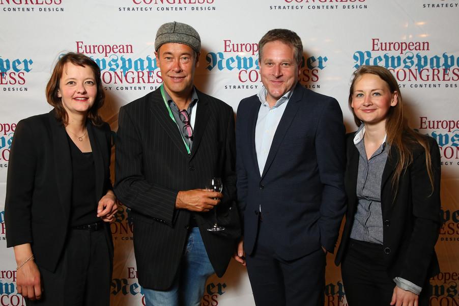 Bild 23 | Winners Dinner - European Newspaper Congress 2018