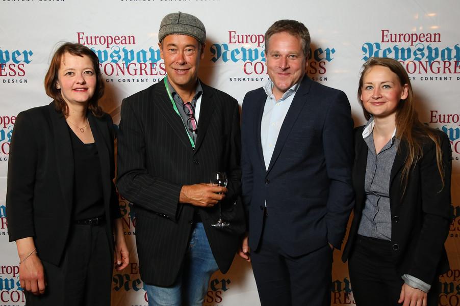 Bild 24 | Winners Dinner - European Newspaper Congress 2018