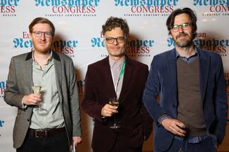 Bild 29 | Winners Dinner - European Newspaper Congress 2018