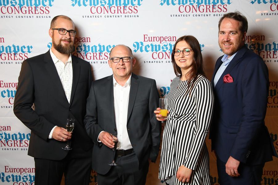 Bild 33 | Winners Dinner - European Newspaper Congress 2018