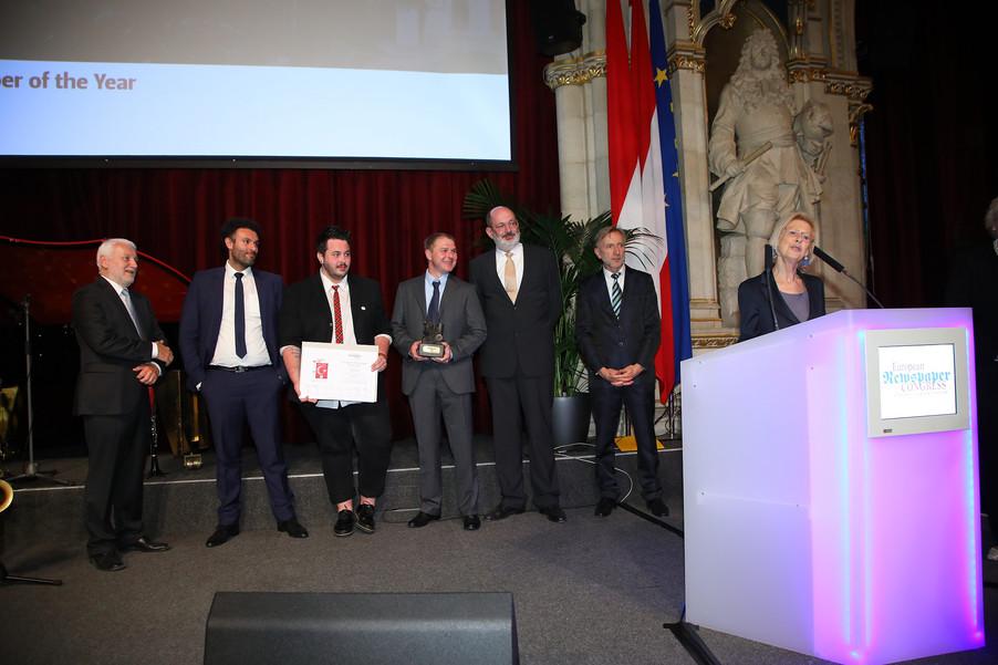 Bild 100 | Winners Dinner - European Newspaper Congress 2018