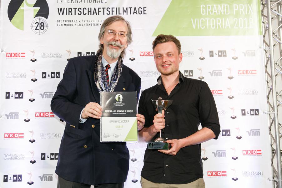 Bild 27 | 28. Internationale Wirtschaftsfilmtage - Verleihung des Grand Prix Victoria 2018