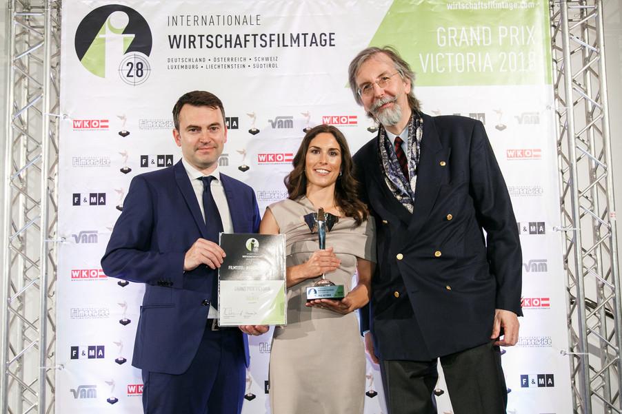 Bild 29 | 28. Internationale Wirtschaftsfilmtage - Verleihung des Grand Prix Victoria 2018