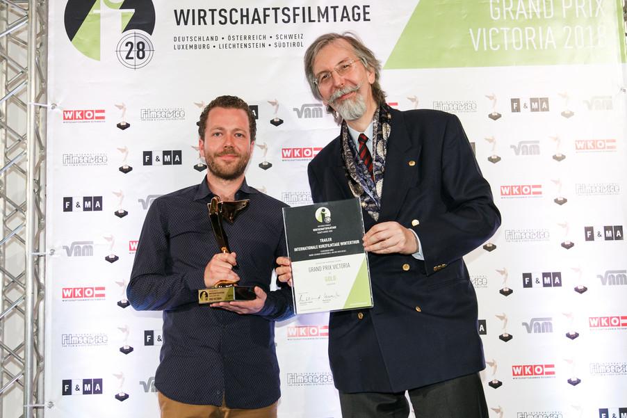 Bild 34 | 28. Internationale Wirtschaftsfilmtage - Verleihung des Grand Prix Victoria 2018