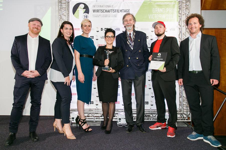 Bild 36 | 28. Internationale Wirtschaftsfilmtage - Verleihung des Grand Prix Victoria 2018