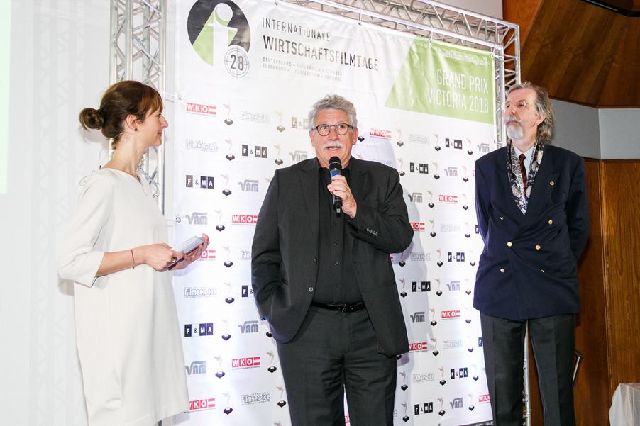 Bild 99 | 28. Internationale Wirtschaftsfilmtage - Verleihung des Grand Prix Victoria 2018