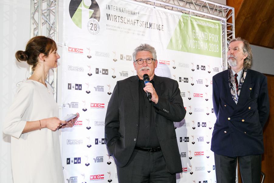 Bild 100 | 28. Internationale Wirtschaftsfilmtage - Verleihung des Grand Prix Victoria 2018
