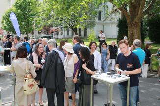 Bild 11 | Im Memory of Sigmund Freud - Enthüllung des Sigmund Freud Denkmals am MedUni Campus AKH