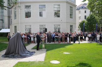 Bild 19 | Im Memory of Sigmund Freud - Enthüllung des Sigmund Freud Denkmals am MedUni Campus AKH