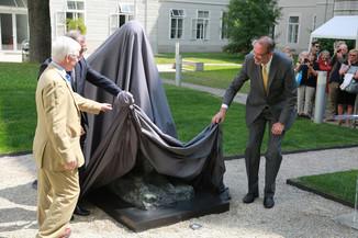 Bild 22 | Im Memory of Sigmund Freud - Enthüllung des Sigmund Freud Denkmals am MedUni Campus AKH