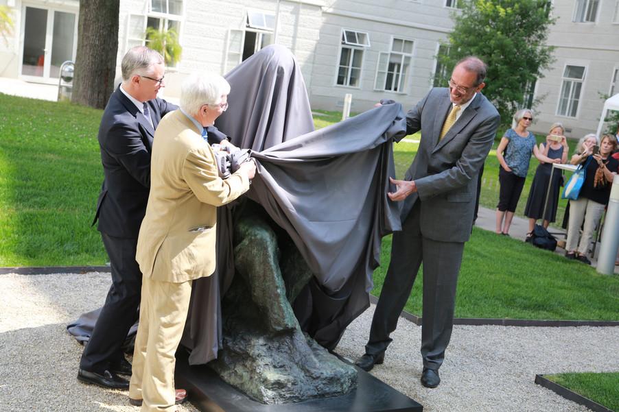 Bild 24 | Im Memory of Sigmund Freud - Enthüllung des Sigmund Freud Denkmals am MedUni Campus AKH