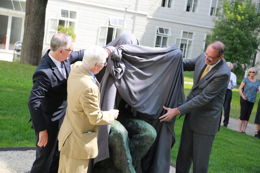 Bild 25 | Im Memory of Sigmund Freud - Enthüllung des Sigmund Freud Denkmals am MedUni Campus AKH
