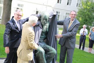 Bild 30 | Im Memory of Sigmund Freud - Enthüllung des Sigmund Freud Denkmals am MedUni Campus AKH