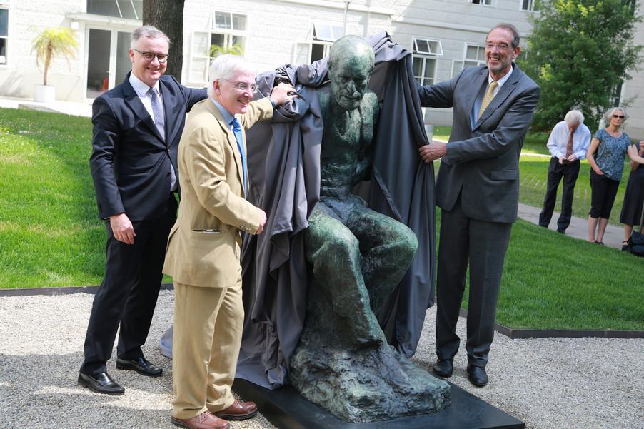 Bild 32 | Im Memory of Sigmund Freud - Enthüllung des Sigmund Freud Denkmals am MedUni Campus AKH