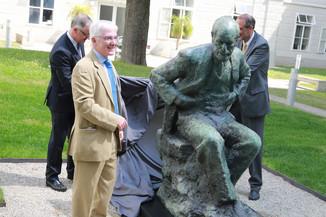 Bild 34 | Im Memory of Sigmund Freud - Enthüllung des Sigmund Freud Denkmals am MedUni Campus AKH