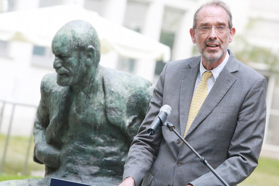 Bild 37 | Im Memory of Sigmund Freud - Enthüllung des Sigmund Freud Denkmals am MedUni Campus AKH