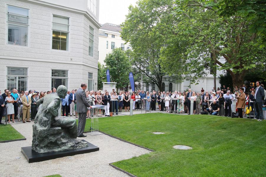 Bild 41 | Im Memory of Sigmund Freud - Enthüllung des Sigmund Freud Denkmals am MedUni Campus AKH