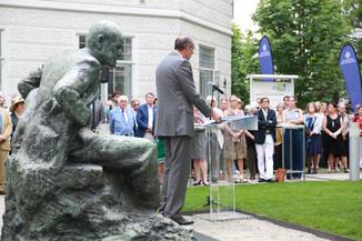 Bild 42 | Im Memory of Sigmund Freud - Enthüllung des Sigmund Freud Denkmals am MedUni Campus AKH