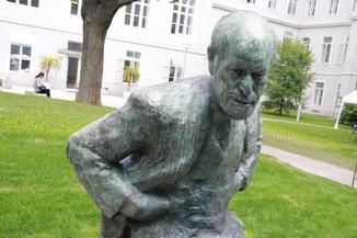 Bild 54 | Im Memory of Sigmund Freud - Enthüllung des Sigmund Freud Denkmals am MedUni Campus AKH
