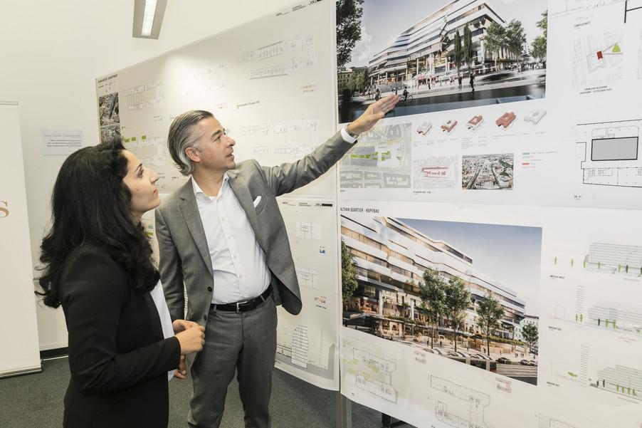 Bild 2   Althan Quartier – Pressekonferenz zur Präsentation des Siegerprojektes