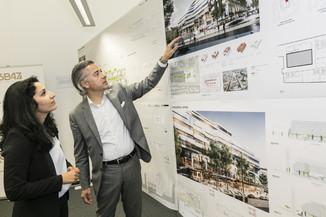 Bild 3   Althan Quartier – Pressekonferenz zur Präsentation des Siegerprojektes