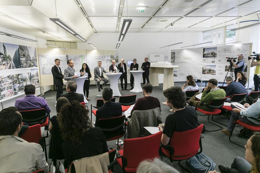 Bild 4   Althan Quartier – Pressekonferenz zur Präsentation des Siegerprojektes