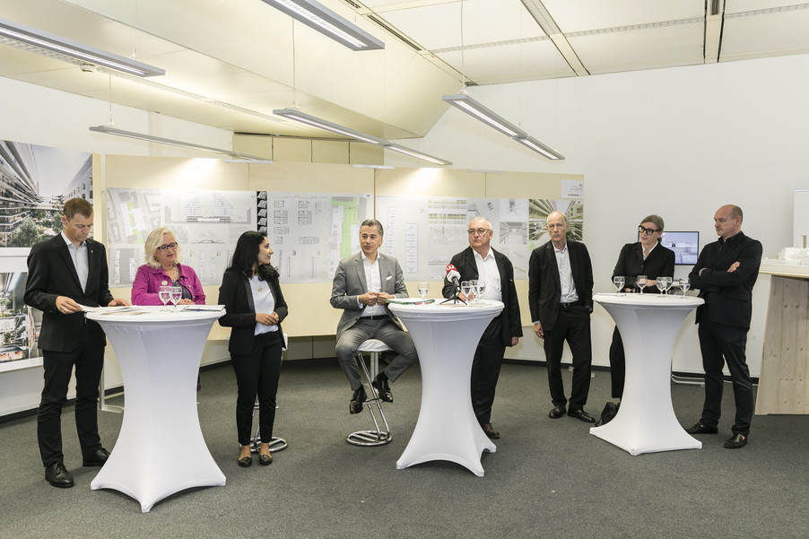 Bild 5   Althan Quartier – Pressekonferenz zur Präsentation des Siegerprojektes