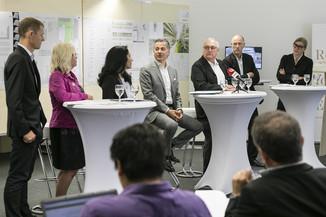 Bild 10   Althan Quartier – Pressekonferenz zur Präsentation des Siegerprojektes