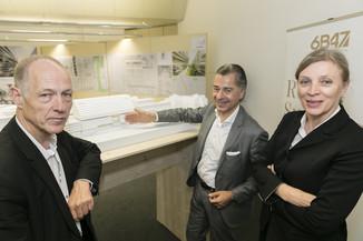 Bild 12   Althan Quartier – Pressekonferenz zur Präsentation des Siegerprojektes