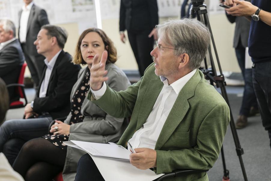 Bild 25   Althan Quartier – Pressekonferenz zur Präsentation des Siegerprojektes