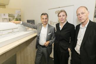 Bild 23   Althan Quartier – Pressekonferenz zur Präsentation des Siegerprojektes