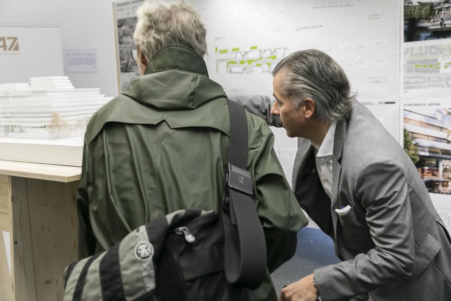 Bild 26   Althan Quartier – Pressekonferenz zur Präsentation des Siegerprojektes