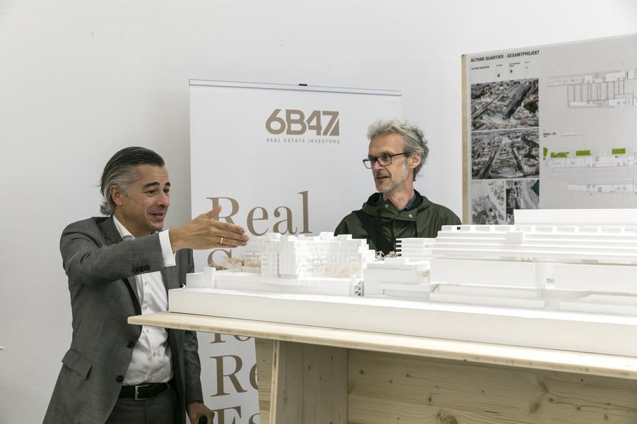 Bild 27   Althan Quartier – Pressekonferenz zur Präsentation des Siegerprojektes
