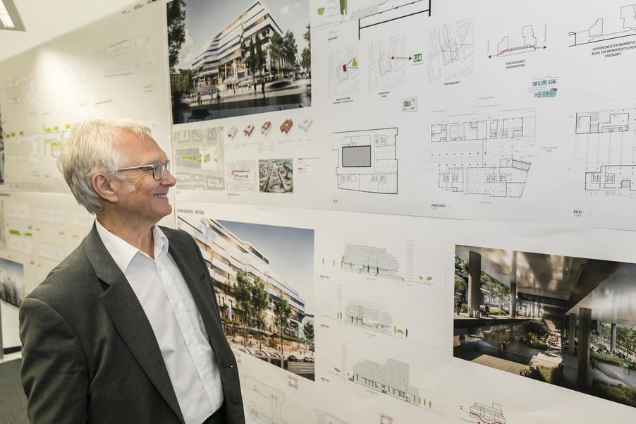 Bild 28   Althan Quartier – Pressekonferenz zur Präsentation des Siegerprojektes