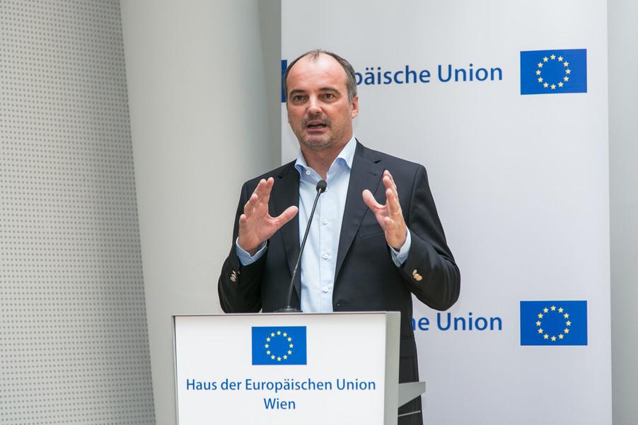Bild 3 | Verleihungszeremonie Botschafterschulen des Europäischen Parlaments mit BM Heinz Faßmann