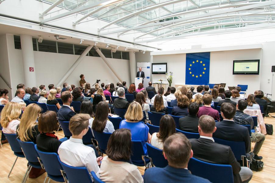 Bild 5 | Verleihungszeremonie Botschafterschulen des Europäischen Parlaments mit BM Heinz Faßmann