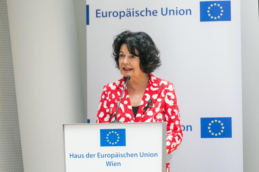 Bild 8 | Verleihungszeremonie Botschafterschulen des Europäischen Parlaments mit BM Heinz Faßmann