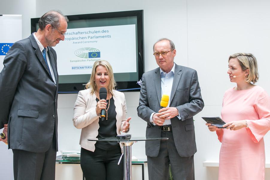 Bild 14 | Verleihungszeremonie Botschafterschulen des Europäischen Parlaments mit BM Heinz Faßmann