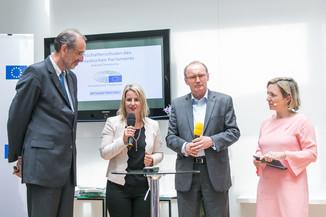 Bild 15 | Verleihungszeremonie Botschafterschulen des Europäischen Parlaments mit BM Heinz Faßmann