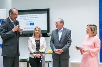 Bild 18 | Verleihungszeremonie Botschafterschulen des Europäischen Parlaments mit BM Heinz Faßmann