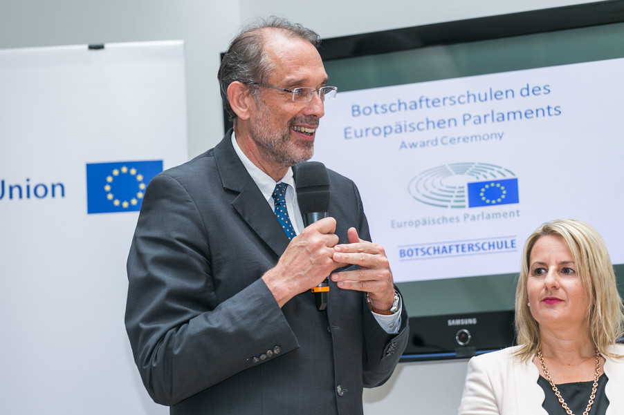 Bild 19 | Verleihungszeremonie Botschafterschulen des Europäischen Parlaments mit BM Heinz Faßmann