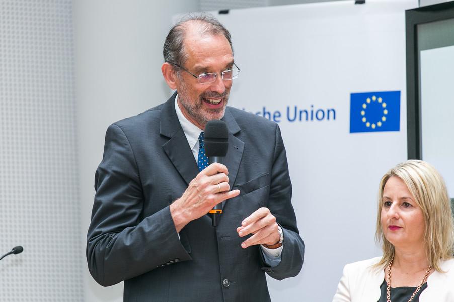 Bild 27 | Verleihungszeremonie Botschafterschulen des Europäischen Parlaments mit BM Heinz Faßmann