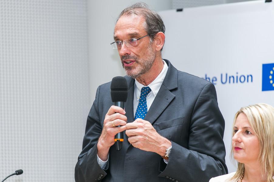 Bild 28 | Verleihungszeremonie Botschafterschulen des Europäischen Parlaments mit BM Heinz Faßmann