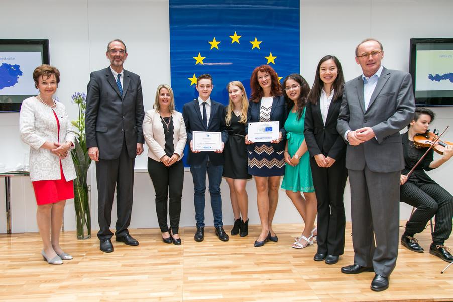 Bild 31 | Verleihungszeremonie Botschafterschulen des Europäischen Parlaments mit BM Heinz Faßmann
