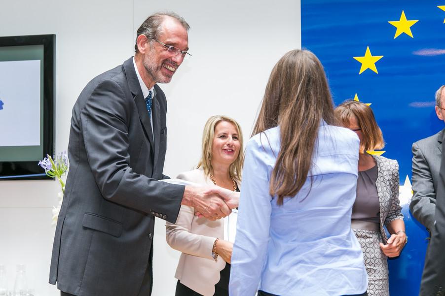 Bild 32 | Verleihungszeremonie Botschafterschulen des Europäischen Parlaments mit BM Heinz Faßmann