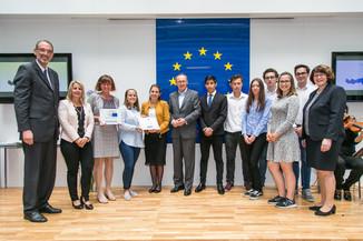 Bild 33 | Verleihungszeremonie Botschafterschulen des Europäischen Parlaments mit BM Heinz Faßmann