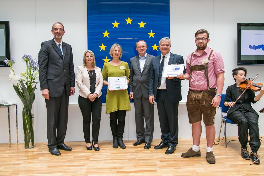 Bild 34 | Verleihungszeremonie Botschafterschulen des Europäischen Parlaments mit BM Heinz Faßmann