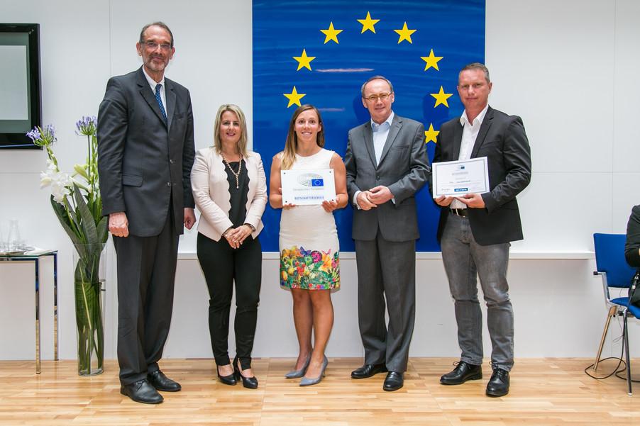 Bild 35 | Verleihungszeremonie Botschafterschulen des Europäischen Parlaments mit BM Heinz Faßmann